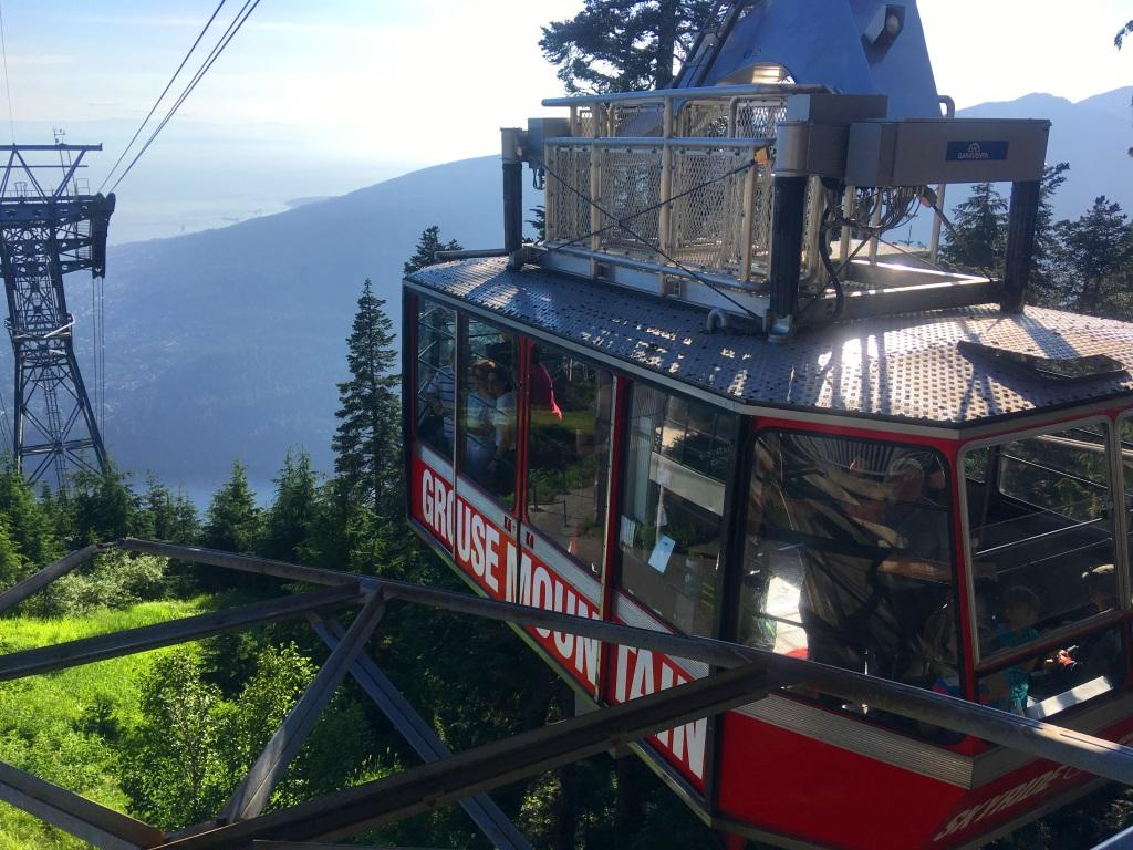 Grouse Mountain in Vancouver, Canada