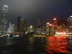 Hong Kong - Victoria Harbour by night