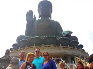 Family time - Big Buddha Hong Kong