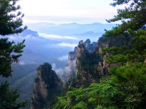 Zhangjiajie National Forest Park - Tianzi Mountain