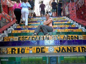 Brazilie - Rio de Janeiro - Escadaria Selaron - Santa Teresa