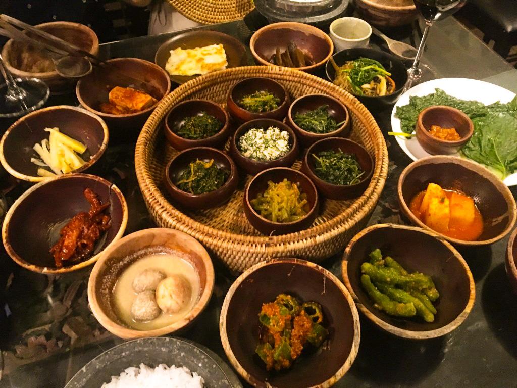Seoul Vegetarian Temple Food