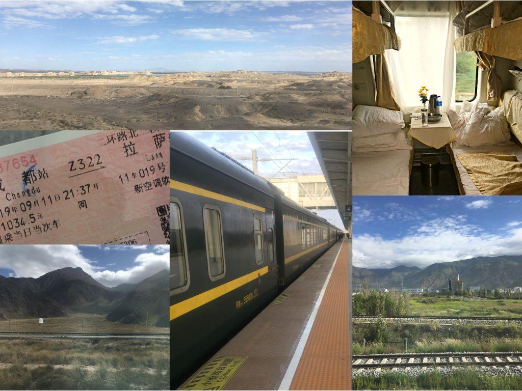 Train Chengdu to Lhasa Tibet